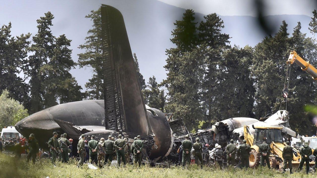 Military plane crash kills more than 250 in Algeria