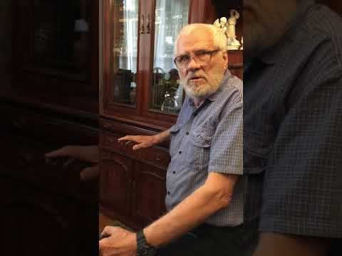 Леонид Бурцев в гостях у Олега Лобанова, старого мастера из Краснодара