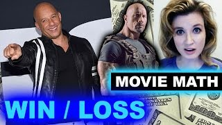 Box Office for The Fate of the Furious BILLION, FEUD, Dwayne Johnson Jason Statham Movie