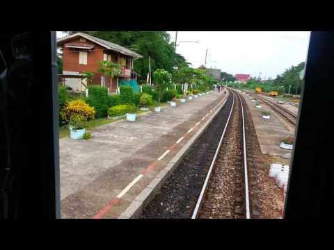 Napradu Train Station Thailand