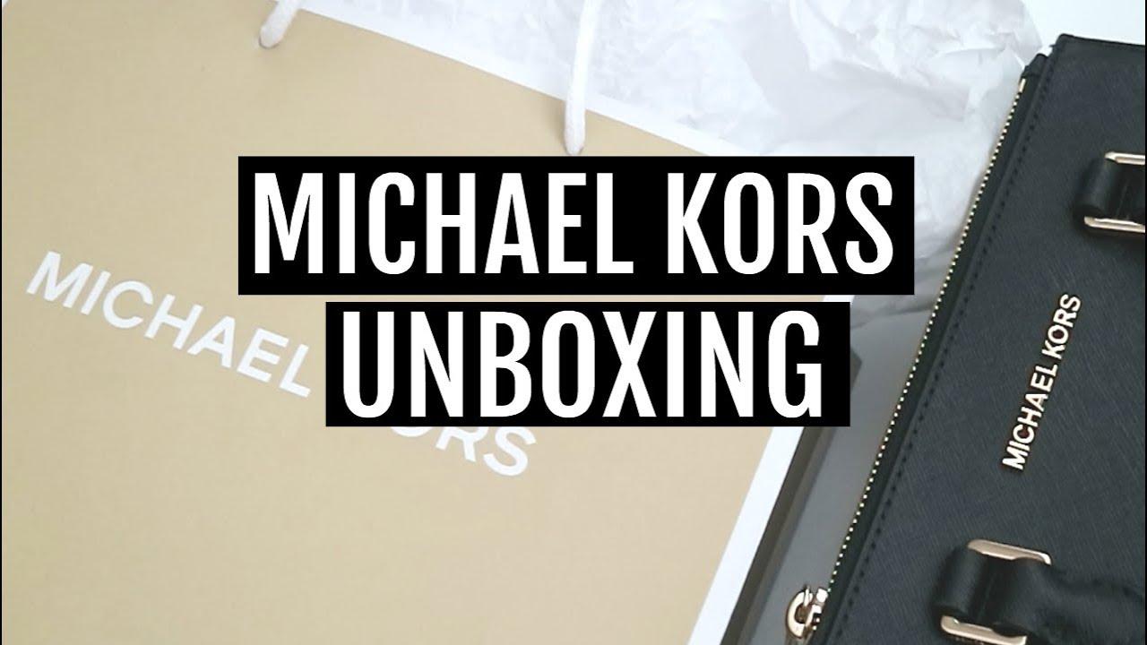 c8434572ad Michael Kors Unboxing 2018 - YouTube