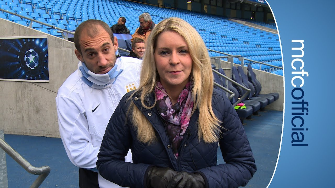 ZABA PHOTOBOMBS NICOLA! City Today 26th November - YouTube