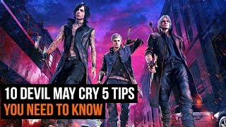10 Essential Devil May Cry 5 Tips To Know Before You Play