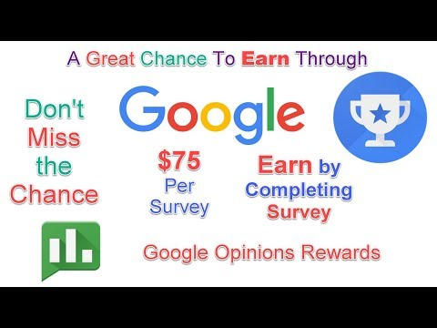 How To Earn $75 Per Hour From Google User research Program Online Work From Home