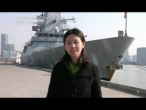 British navy's destroyer HMS Daring arrives in Shanghai