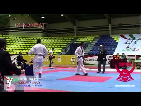 X-KOMBAT: 2nd WEST ASIA KARATEDO CHAMPIONSHIPS - IRAN 2010 84 kg