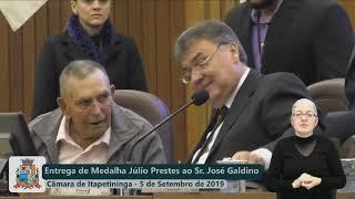 Sessão Solene - José Galdino de Camargo - 2019