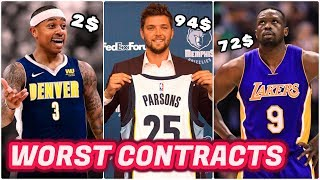 10 Awful NBA Free Agent Signings (2000-2018)