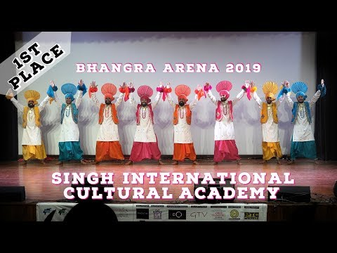 Singh International Cultural Academy – First Place Live Category – Bhangra Arena 2019