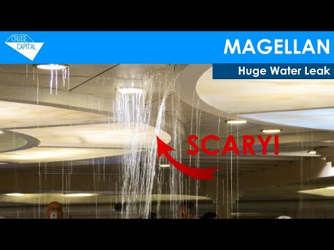 Huge Water Leak Onboard Magellan (Cruise & Maritime Voyages CMV)