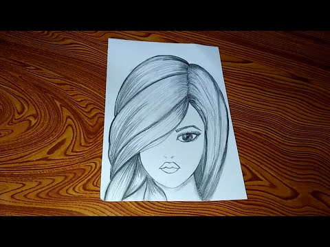 how-to-draw-a-girl- -step-by-step-pencil-sketch