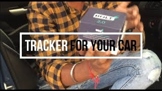 Installed  tracker in my car | engine switch off tracker | best gps tracker