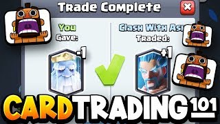 """How to TRADE CARDS in Clash Royale! """"Trade Tokens"""" Explained!"""
