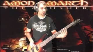 Bass Cover Amon Amarth As long as the Raven flies