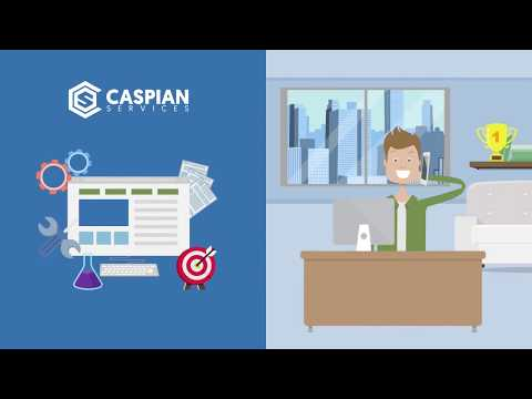 At Caspian Services, we can design, build and maintain your website
