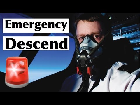 Aircraft failure - Rapid decompression and emergency descend