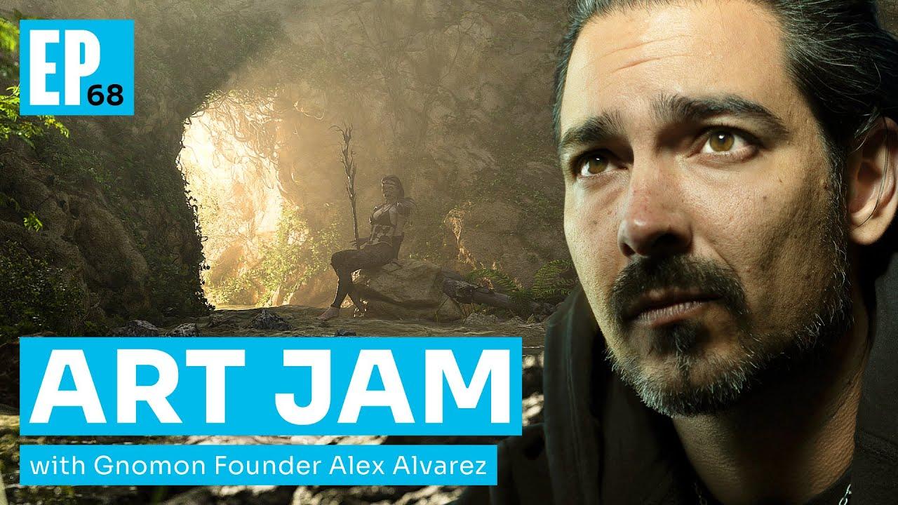 Download Art Jam with Alex Alvarez [Episode 68]