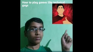 How to play car racing game like technical guys