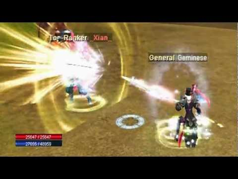 *BLAZE SRO PvP Full INT Spear Fire/Cold VS. Force/Pach [Geminese VS _Xian_]