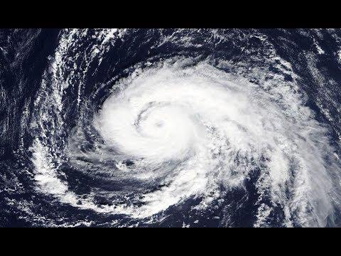 Hurricane OPHELIA Update - Final Track - SW Ireland - Cork & Waterford