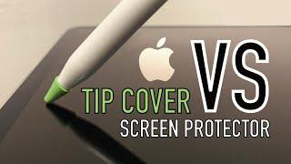 Apple Pencil TIP COVER vs SCREEN PROTECTOR screenshot 2