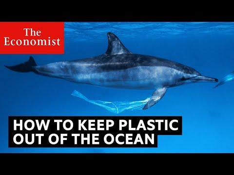 Novas tecnologias no combate ao lixo no mar