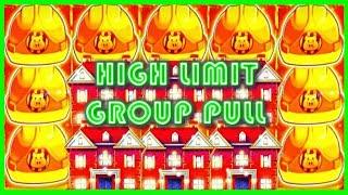 ✴ HIGH LIMIT ✴ Group Pull on Huff N' Puff ➡ MASSIVE WINNING BONUS