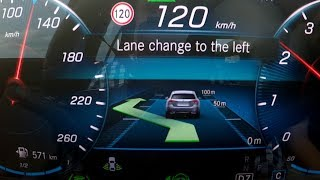 Mercedes A Class 2018: Active Lane Change Assist - real-life test :: [1001cars]