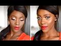 Christmas makeup tutorial   Makeup for Christmas   Le maquillage parfait pour les fetes