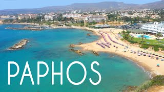 ALL Paphos Beaches 2020 14 km Of Coast Drone Review Cyprus