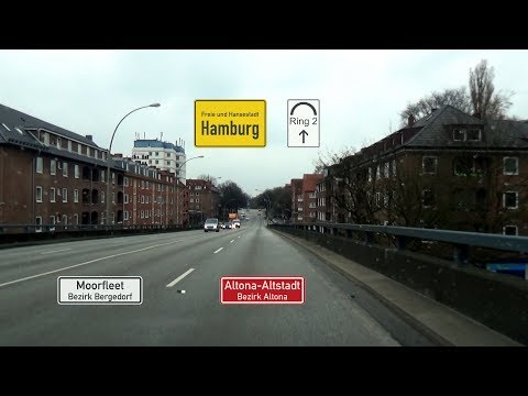 Hamburg, Ring 2: Moorfleet - Altona-Altstadt (2x)