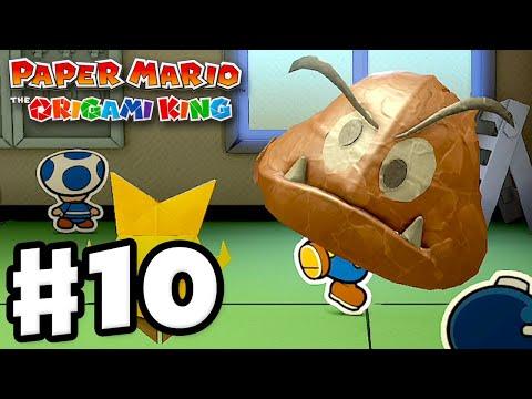Shogun Studios! – Paper Mario: The Origami King – Gameplay Walkthrough Part 10