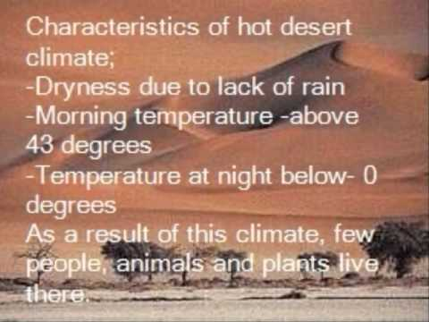 PhotoStory Hot Desert Climate