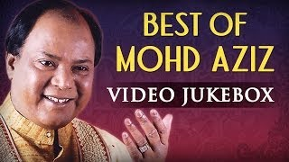 Mohd Aziz Superhit Song Collection - Jukebox - Old Bollywood Classic Songs