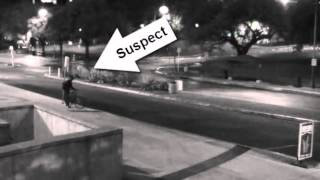 Video of the suspect from The University of Texas at Austin Homicide (Murder #4)
