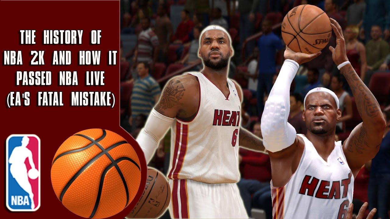 1168707e0117 The History Of How NBA 2K Passed NBA Live (EA s Fatal Mistake) - YouTube
