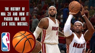 The History Of How NBA 2K Passed NBA Live (EA's Fatal Mistake)
