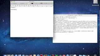 Write C code for Mac OSX: Tutorial 1