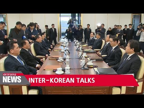 Two Koreas begin first high-level talks in two years