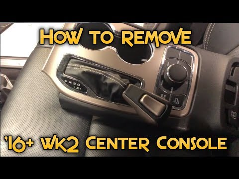 How To Remove The Interior Trim On A '16+ Jeep Grand Cherokee