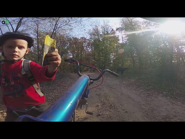 Aventuri pe bicicleta : Piciul pe creasta Zarandului