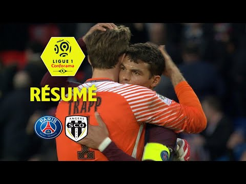 Paris Saint-Germain - Angers SCO ( 2-1 ) - Résumé - (PARIS - SCO) / 2017-18