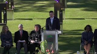 Remembrance Ceremony: Mayor David Holt