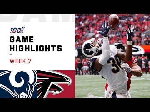 Rams vs. Falcons Week 7 Highlights | NFL 2019