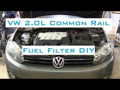 VW Golf/Jetta TDI - Fuel Filter DIY w/VCDS - 2009-2014