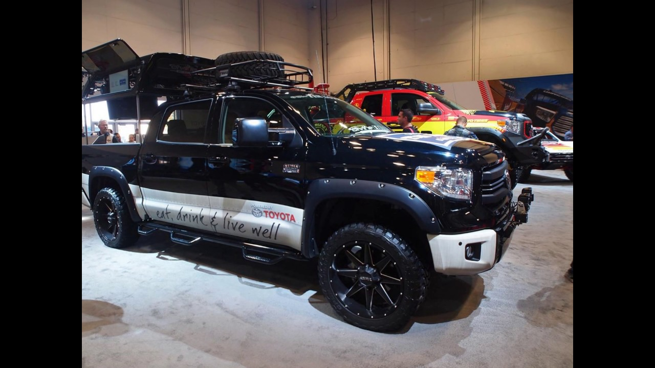 2018 Toyota Tundra TRD Pro 5.7l 8 NEW - YouTube