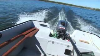 Łódka Romana - Crescent Boat 430x180   YAMAHA 9.9   2 stroke Outboard motor