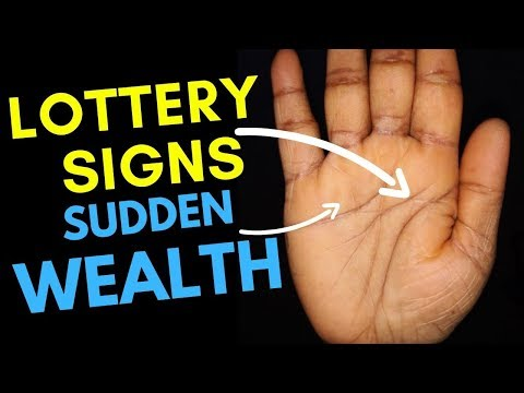Lottery Signs And Sudden Wealth In Your Hands?-Palmistry