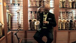 JazzLab Saxholder introduced by Greg Osby