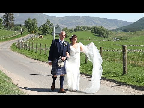 Gail and Rob's Wedding Video at Clova Kirk